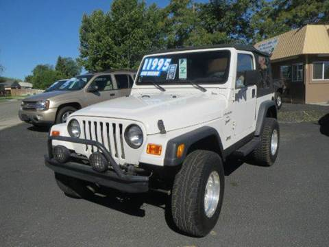 2001 Jeep Wrangler for sale at Pioneer Motors in Twin Falls ID