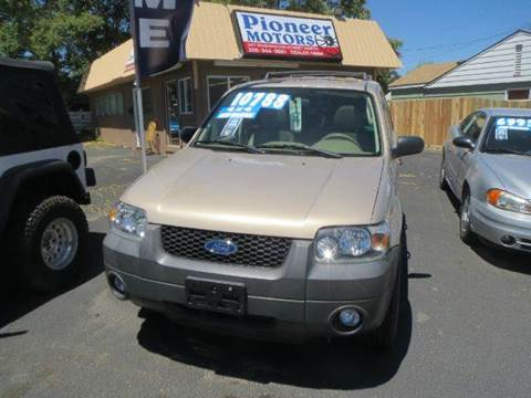 2007 Ford Escape for sale at Pioneer Motors in Twin Falls ID