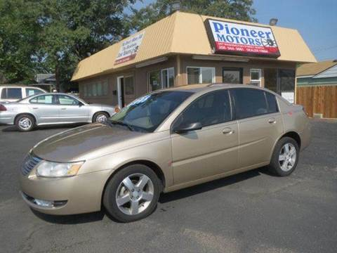2006 Saturn Ion for sale at Pioneer Motors in Twin Falls ID