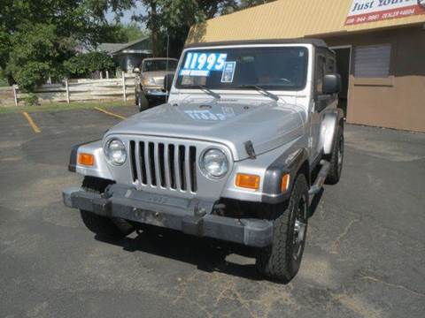 2004 Jeep Wrangler for sale at Pioneer Motors in Twin Falls ID