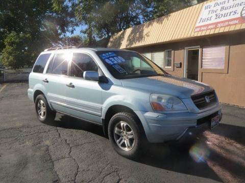 2003 Honda Pilot for sale at Pioneer Motors in Twin Falls ID