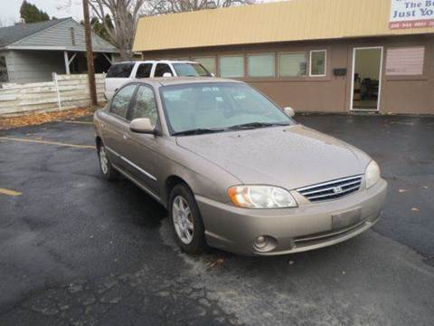 2003 Kia Spectra for sale at Pioneer Motors in Twin Falls ID