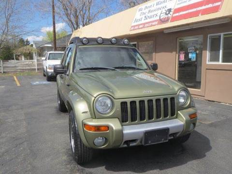 2004 Jeep Liberty for sale at Pioneer Motors in Twin Falls ID