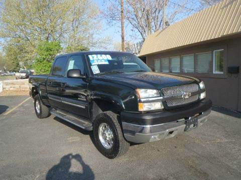 2003 Chevrolet Silverado 2500HD for sale at Pioneer Motors in Twin Falls ID