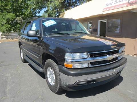 2005 Chevrolet Tahoe for sale at Pioneer Motors in Twin Falls ID