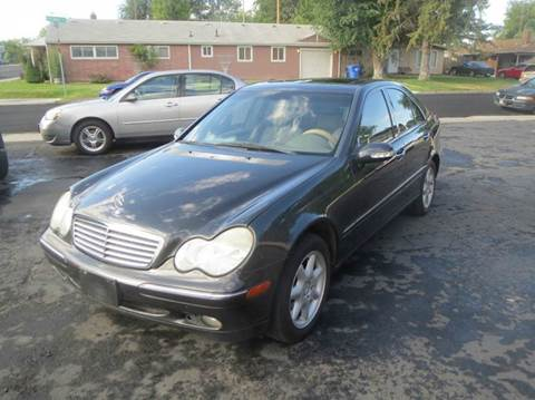 2002 Mercedes-Benz C-Class for sale at Pioneer Motors in Twin Falls ID