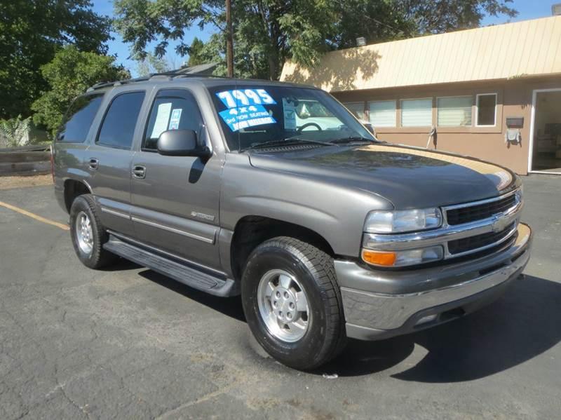 2001 Chevrolet Tahoe for sale at Pioneer Motors in Twin Falls ID