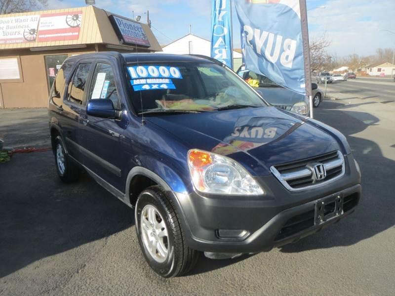 2004 Honda CR-V for sale at Pioneer Motors in Twin Falls ID