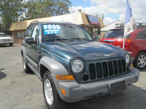 2005 Jeep Liberty for sale at Pioneer Motors in Twin Falls ID