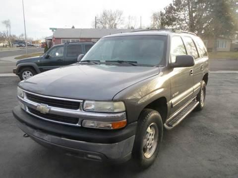 2002 Chevrolet Tahoe for sale at Pioneer Motors in Twin Falls ID