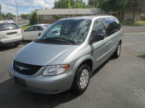 2003 Chrysler Town and Country for sale at Pioneer Motors in Twin Falls ID