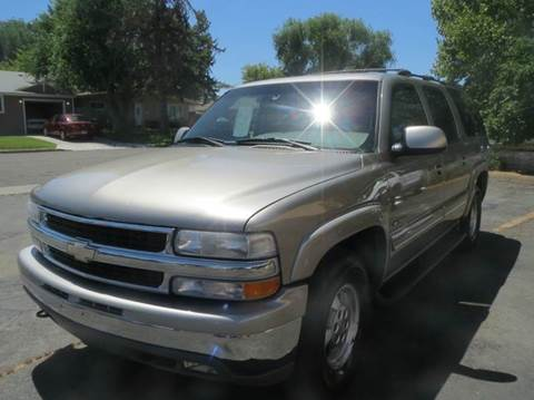 2001 Chevrolet Suburban for sale at Pioneer Motors in Twin Falls ID