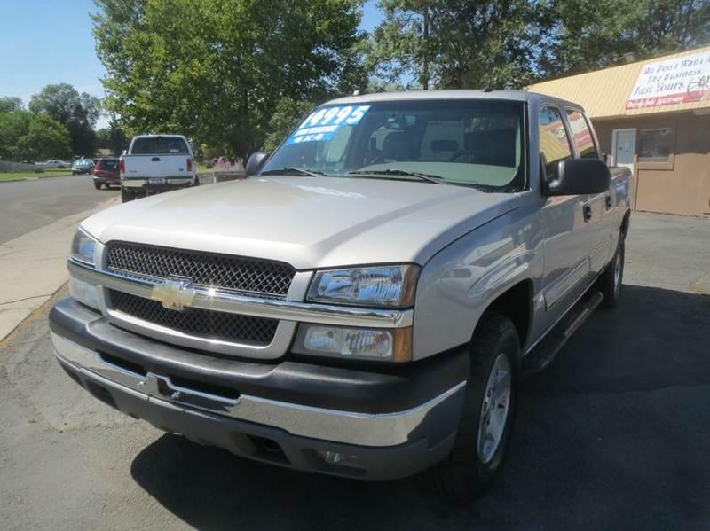 2004 Chevrolet Silverado 1500 for sale at Pioneer Motors in Twin Falls ID