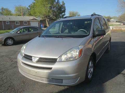 2005 Toyota Sienna for sale at Pioneer Motors in Twin Falls ID