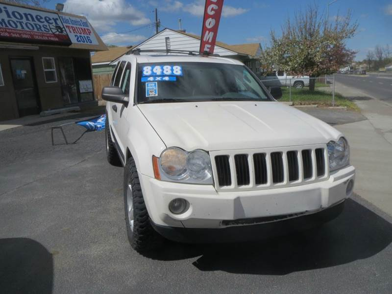 2005 Jeep Grand Cherokee for sale at Pioneer Motors in Twin Falls ID