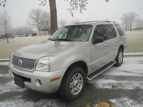 2003 Mercury Mountaineer for sale at Pioneer Motors in Twin Falls ID
