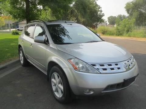 2003 Nissan Murano for sale at Pioneer Motors in Twin Falls ID