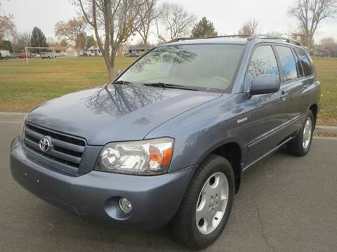 2005 Toyota Highlander for sale at Pioneer Motors in Twin Falls ID
