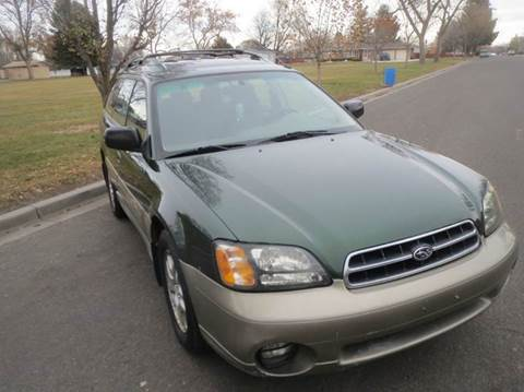 2000 Subaru Outback for sale at Pioneer Motors in Twin Falls ID