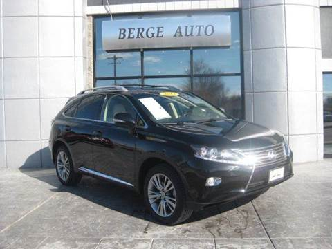 2013 Lexus RX 450h for sale at Berge Auto in Orem UT