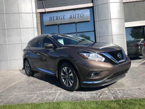2015 Nissan Murano for sale at Berge Auto in Orem UT