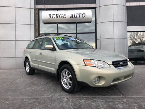 2006 Subaru Outback for sale at Berge Auto in Orem UT