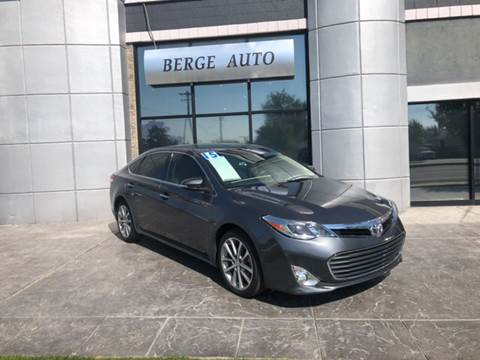 2015 Toyota Avalon for sale at Berge Auto in Orem UT