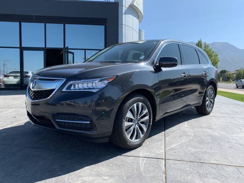 2016 Acura MDX SH-AWD 4dr SUV w/Technology and AcuraWatch Plus Package - Orem UT