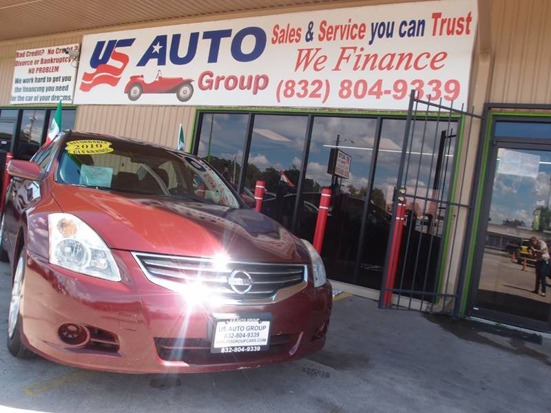 2010 Nissan Altima 2 5 Sl 4dr Sedan In South Houston Tx Us Auto Group