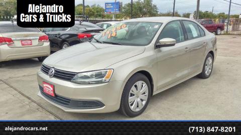 2014 Volkswagen Jetta for sale at Alejandro Cars & Trucks in Houston TX