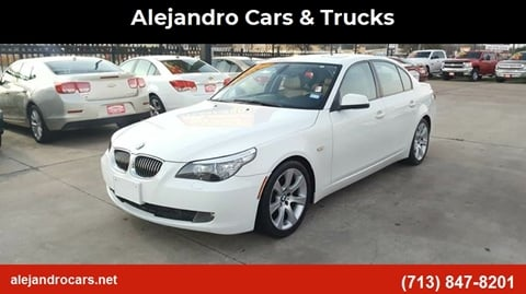 2010 BMW 5 Series for sale at Alejandro Cars & Trucks in Houston TX