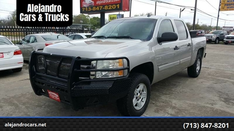 2007 Chevrolet Silverado 1500 for sale at Alejandro Cars & Trucks in Houston TX