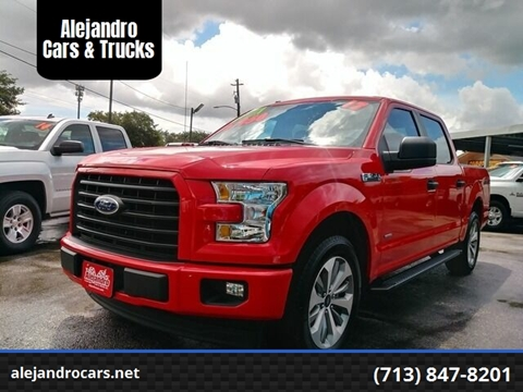 2017 Ford F-150 for sale at Alejandro Cars & Trucks in Houston TX