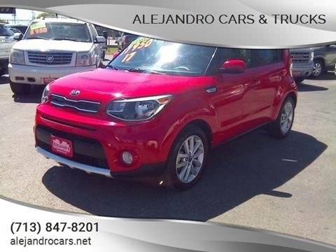 2017 Kia Soul for sale at Alejandro Cars & Trucks in Houston TX