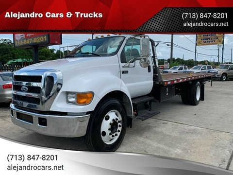2006 Ford F-650 Super Duty for sale at Alejandro Cars & Trucks in Houston TX