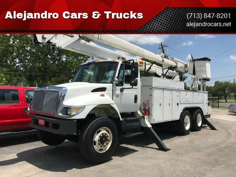 2002 International WorkStar 7400 for sale in Houston, TX