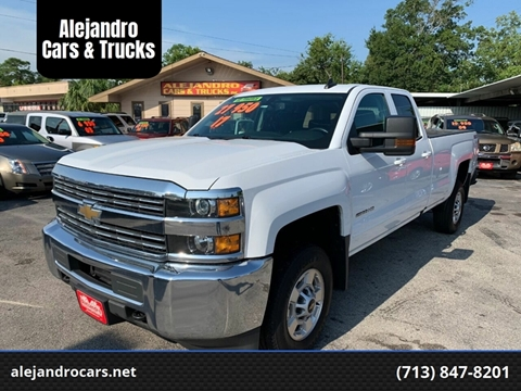 2017 Chevrolet Silverado 2500HD for sale at Alejandro Cars & Trucks in Houston TX