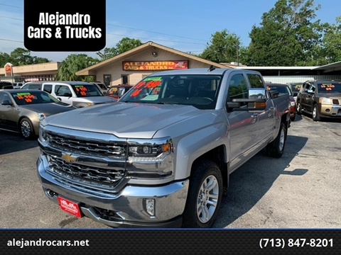 2016 Chevrolet Silverado 1500 for sale at Alejandro Cars & Trucks in Houston TX