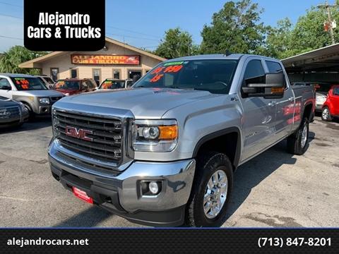 2015 GMC Sierra 2500HD for sale at Alejandro Cars & Trucks in Houston TX