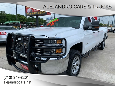 2015 Chevrolet Silverado 2500HD for sale at Alejandro Cars & Trucks in Houston TX