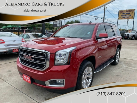 2015 GMC Yukon for sale at Alejandro Cars & Trucks in Houston TX