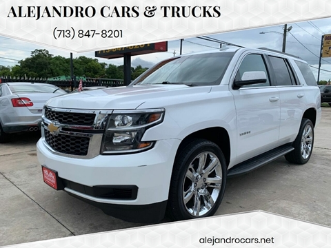 2015 Chevrolet Tahoe for sale at Alejandro Cars & Trucks in Houston TX