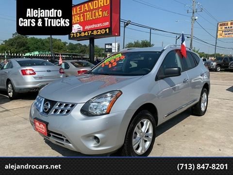 2015 Nissan Rogue Select for sale at Alejandro Cars & Trucks in Houston TX