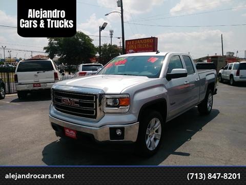 2014 GMC Sierra 1500 for sale at Alejandro Cars & Trucks in Houston TX