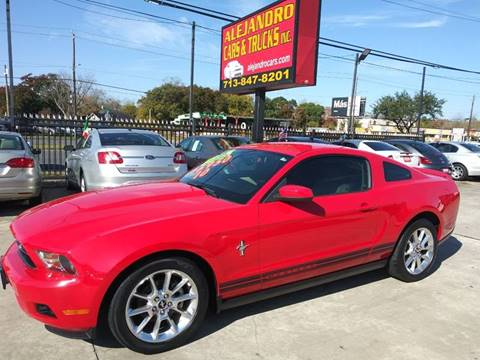 2010 Ford Mustang for sale at Alejandro Cars & Trucks in Houston TX