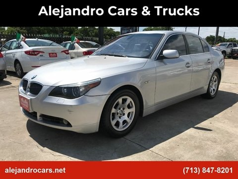 2004 BMW 5 Series for sale at Alejandro Cars & Trucks in Houston TX