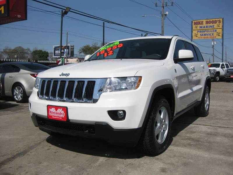 2012 Jeep Grand Cherokee for sale at Alejandro Cars & Trucks in Houston TX