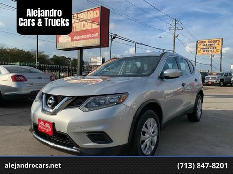 2016 Nissan Rogue for sale at Alejandro Cars & Trucks in Houston TX