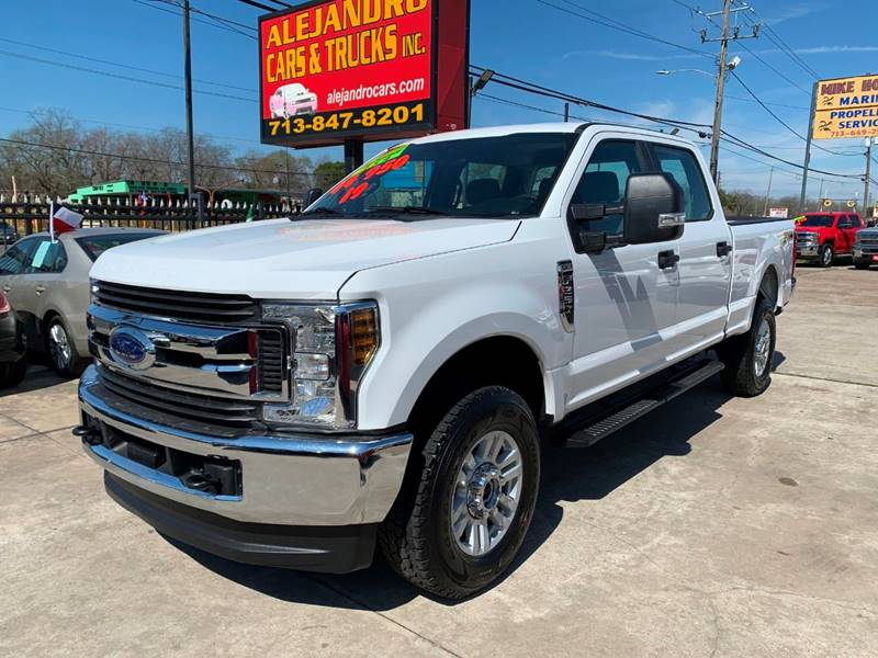 2019 Ford F-250 Super Duty for sale at Alejandro Cars & Trucks in Houston TX