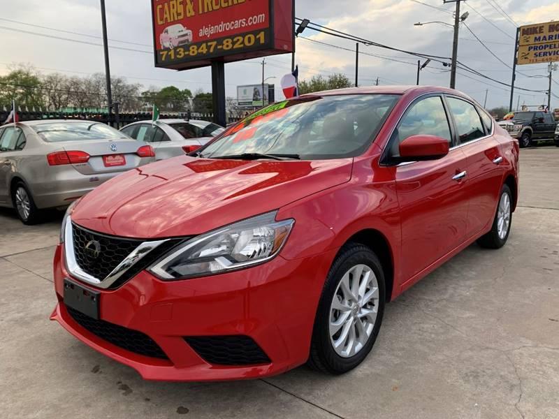 2018 Nissan Sentra for sale at Alejandro Cars & Trucks in Houston TX